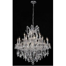 <strong>Elegant Lighting</strong> Maria Theresa 19 Light Chandelier