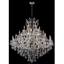 <strong>Elegant Lighting</strong> Maria Theresa 37 Light  Chandelier