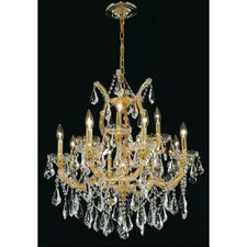 <strong>Elegant Lighting</strong> Maria Theresa  13 Light Chandelier