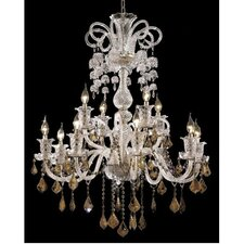 <strong>Elegant Lighting</strong> Elizabeth 12 Light  Chandelier