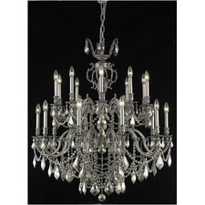 <strong>Elegant Lighting</strong> Marseille 20 Light  Chandelier