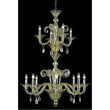<strong>Elegant Lighting</strong> Muse 12 Light  Chandelier
