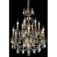 <strong>Elegant Lighting</strong> Marseille  12 Light Chandelier