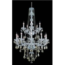 <strong>Elegant Lighting</strong> Verona  15 Light Chandelier