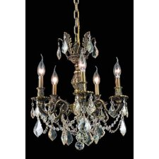 <strong>Elegant Lighting</strong> Marseille 5 Light Chandelier