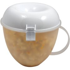 <strong>The Premium Connection</strong> KitchenWorthy Microwave Popcorn Popper