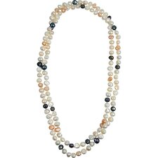 Bret Roberts Genuine Baroque Cultured Pearl Strand Necklace