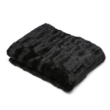 Roberto Amee Faux Fur Throw Blanket
