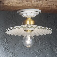 L'Aquila 1 Light Semi-Flush Mount