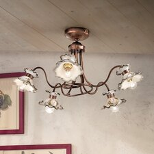 Milano 5 Light Semi-Flush Mount