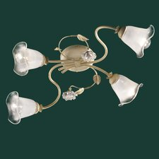 Siena 4 Light Semi-Flush Mount