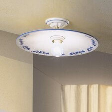 Torino 1 Light Semi-Flush Mount