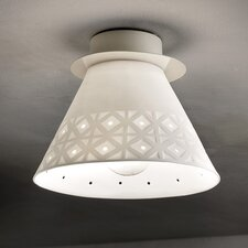 Viterbo 1 Light Flush Mount