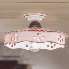 Alessandria 1 Light Semi-Flush Mount