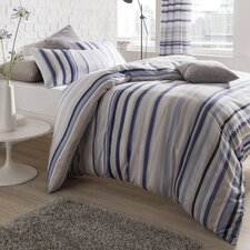 Knitted Stripe Duvet Set