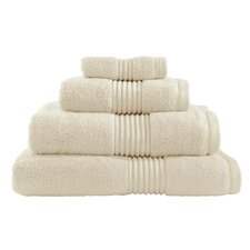 Zero Twist Hand Towel in Cream