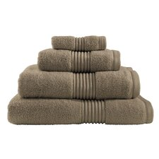 Zero Twist Hand Towel in Mink
