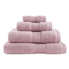 Zero Twist Hand Towel in Blush