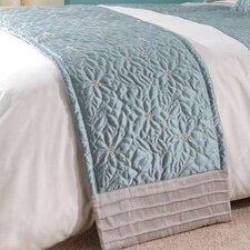 CL Home Lois Polyester Bed Runner