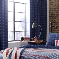Kids Stars And Stripes Curtains