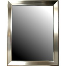 <strong>Second Look Mirrors</strong> Art Deco Stainless Silver Mirror