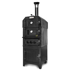 Wood-fired Pizza Oven Smoker with Optional Cover