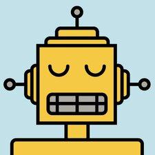 Robots Jackhammer Wall Plaque