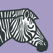 Animals Zebra Wall Plaque