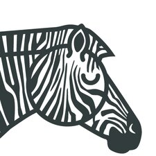 Animals Zebra Painting