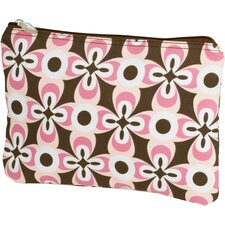 Geo Flower Cosmetic Bag