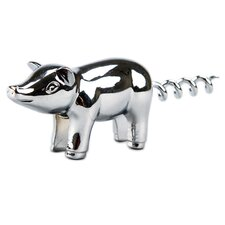 "5"" Chrome Plated Piggy Corkscrew"