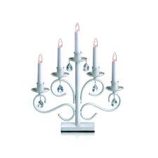 """Kerzenleuchte """"Iris"""" in Weiß"""