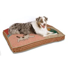 Quilted Novelty Dog Bed