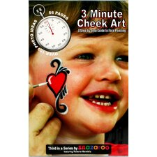 <strong>SnazarooUSA</strong> How To Face Paint Book, 3 Minute Cheek Art