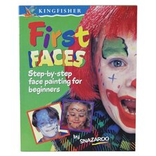 First Faces Face Paint Book