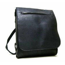 <strong>Le Donne Leather</strong> Organizer Shoulder Backpack