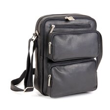 Multi Pocket iPad/E-Reader Day Shoulder Bag