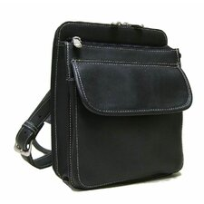 <strong>Le Donne Leather</strong> Organizer Shoulder Bag