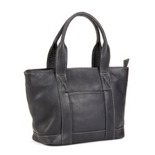 <strong>Le Donne Leather</strong> Triple Zip Tote Bag