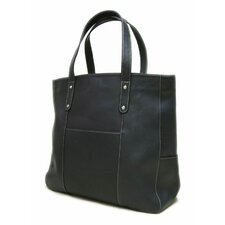 <strong>Le Donne Leather</strong> Large Slip Pocket Tote Bag