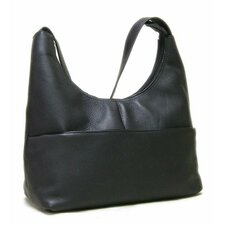 Front Zip Hobo Bag