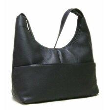 Front Zip Hobo Bag
