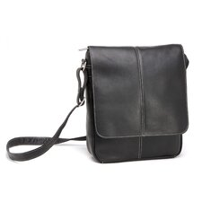 <strong>Le Donne Leather</strong> Flap Over E-Reader/I-Pad Shoulder Bag