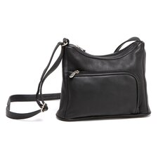 L-Zip Hobo Bag