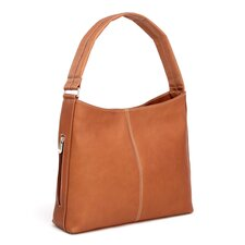 Side Zip Pocket Hobo Bag