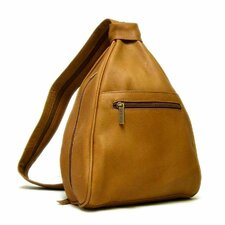Leather Women's Sling Backpack