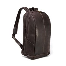 Distressed Leather Laptop Backpack