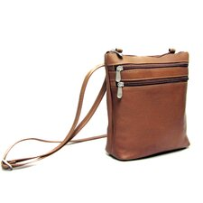 <strong>Le Donne Leather</strong> Zip Cross Body Bag
