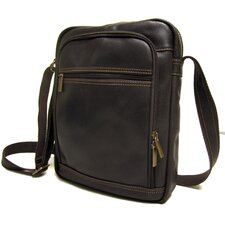<strong>Le Donne Leather</strong> Distressed Leather iPad/E-Reader Shoulder Bag