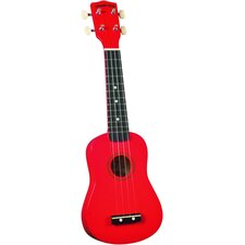 Soprano Ukulele with Red Match Case